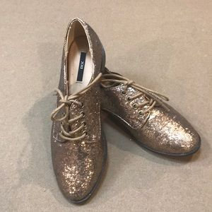NEW sparkly Oxford loafers